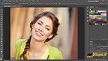 ترفند روتوش یا ریتاچ Retouching بزرگ کردن چشم ها در نرم افزار ادوبی فتوشاپ سی سی 2018 (Adobe Photoshop CC 2018 v19.1.3)