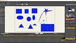 ترسیم اشکال هندسی در نرم افزار ساخت کارتون و انیمیشن موهو انیمه استودیو 12