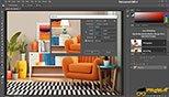 تغییر اندازه بوم یا صفحه جدید در نرم افزار فتوشاپ معماری