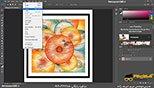انتخاب اشکال از منوی select در نرم افزار فتوشاپ معماری