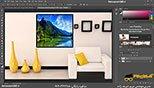 جابجایی تصاویر در نرم افزار فتوشاپ معماری