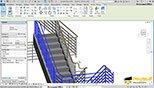 تنظیمات پنجره Type Properties برای Top Rail Type نوع نرده بالا در نرم افزار اتودسک رویت معماری آرکیتکچر 2018 Autodesk Revit 2018