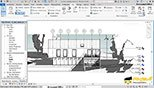 آشنایی با ابزارهای بزرگ نمایی zoom در نرم افزار اتودسک رویت معماری آرکیتکچر 2018 (Autodesk Revit 2018)