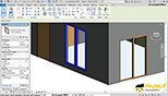 آشنایی با تنظیمات اندازه گذاری موقت و تنظیمات عمومی Door درب در پنجره Properties در نرم افزار اتودسک رویت معماری آرکیتکچر 2018 (Autodesk Revit 2018)