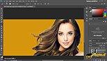 جدا کردن تصویرو موها از پس زمینه با کانال های رنگی در نرم افزار فتوشاپ