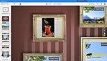 وارد کردن تصاویر ، پلت فرم پرزی نکست اضافه کردن انیمیشن به عکس- زوم روی نقاط تصویر در نرم افزار پرزی