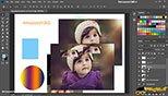 کپی کردن لایه ها در فتوشاپ عکاسی