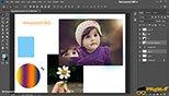 لینک کردن لایه ها ( Link Layer ) در فتوشاپ عکاسی